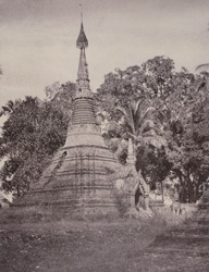 No. 116. Rangoon. Small Pagoda [on platform of Shwe Dagon].